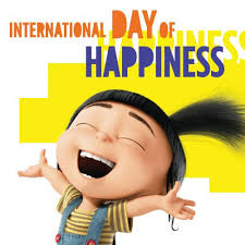 International Happiness Day…I love being happy